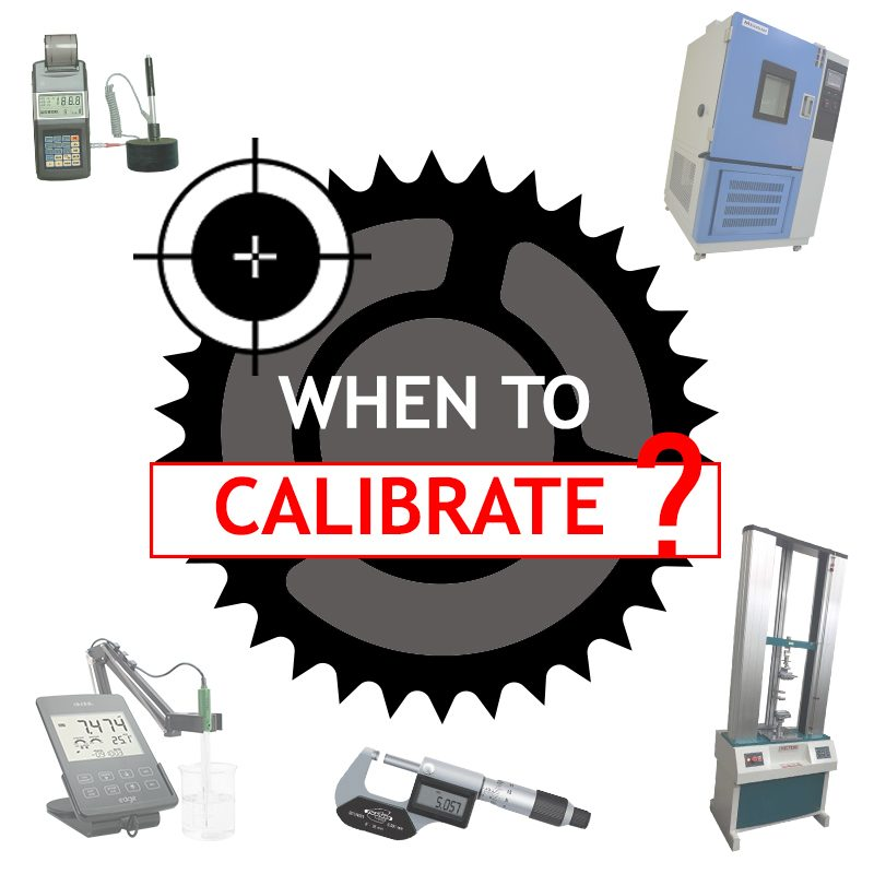 When to Calibrate - Obsnap Group of Companies   Equipment